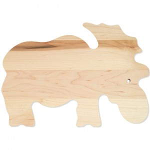 A moose cutting boards