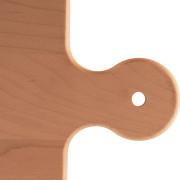Planche à pain en bois poignée